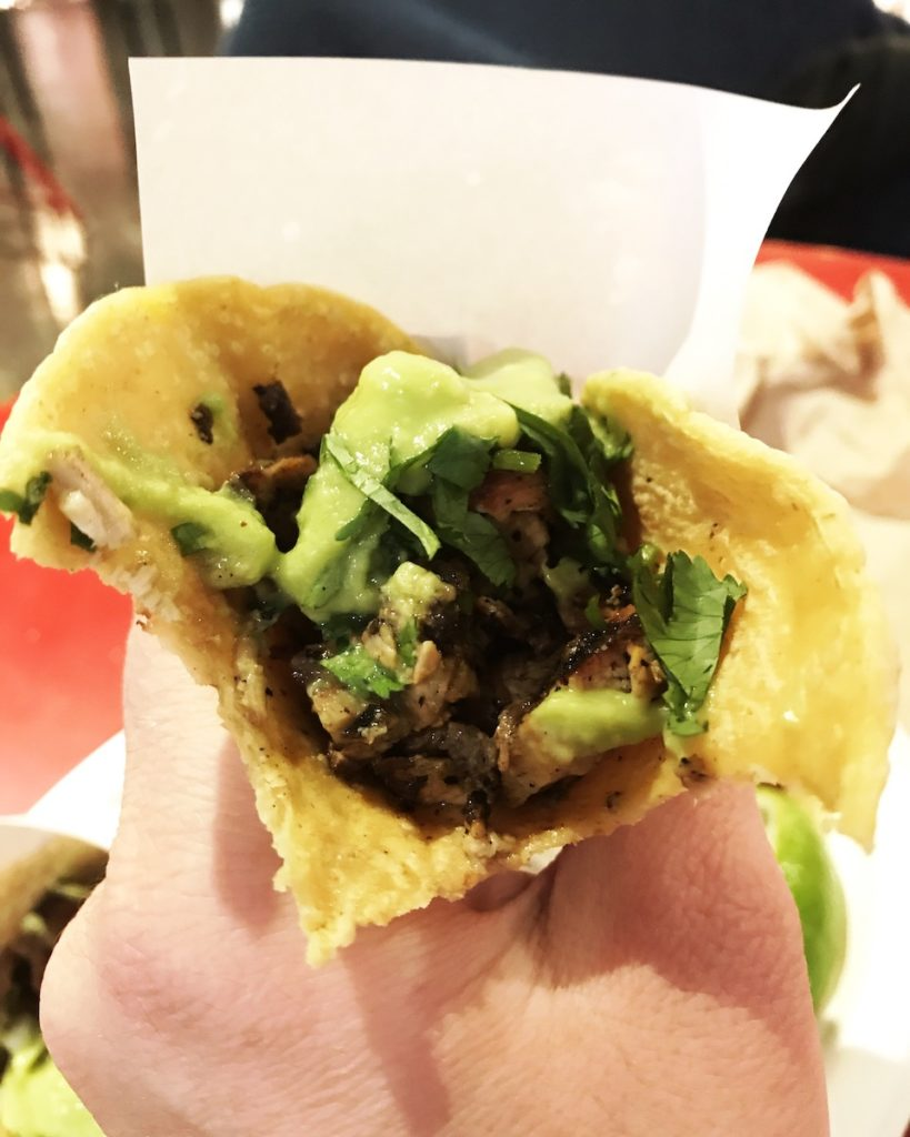 Los Tacos No. 1 at Chelsea Market in NYC