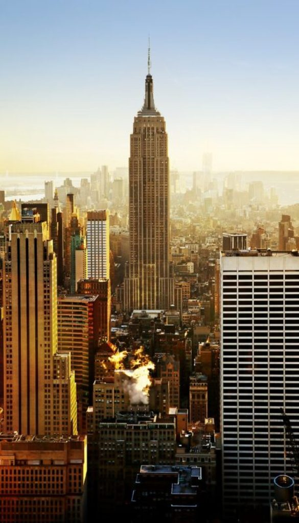 Empire State Building in New York City (NYC)
