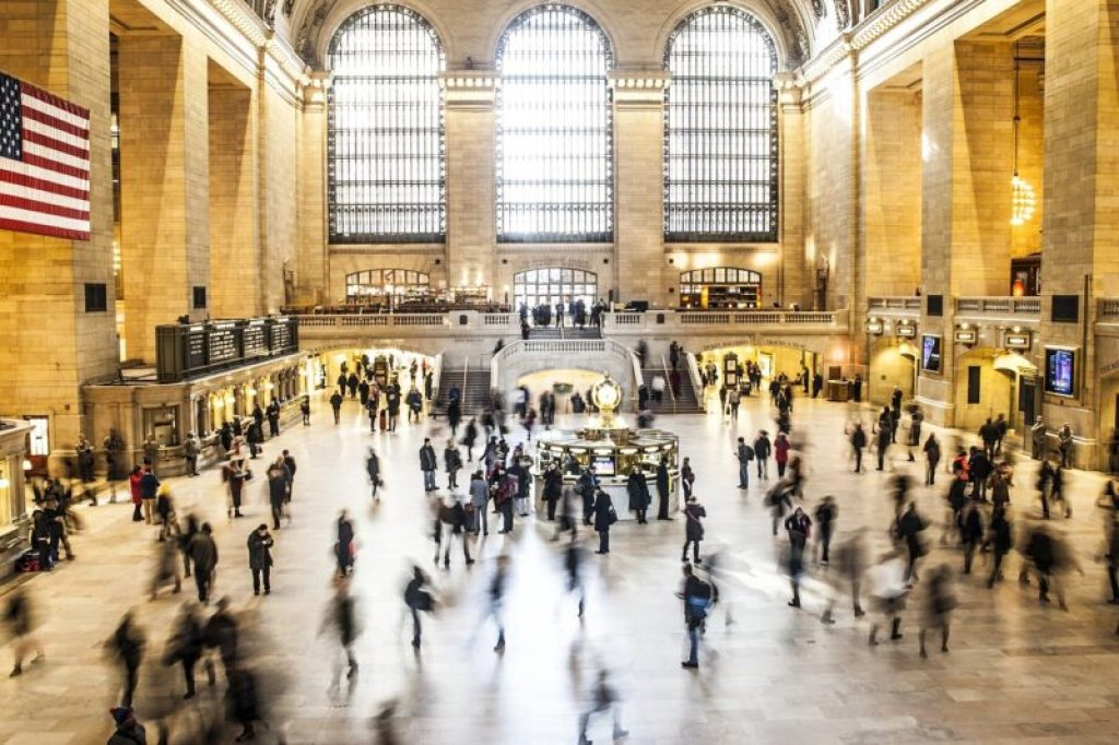 Grand Central Station in New York City (NYC)