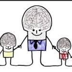 """""""Mommy, Daddy has a brain too?"""""""