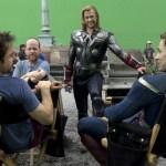 Robert Downey Jr., Chris Evans, Chris Hemsworth