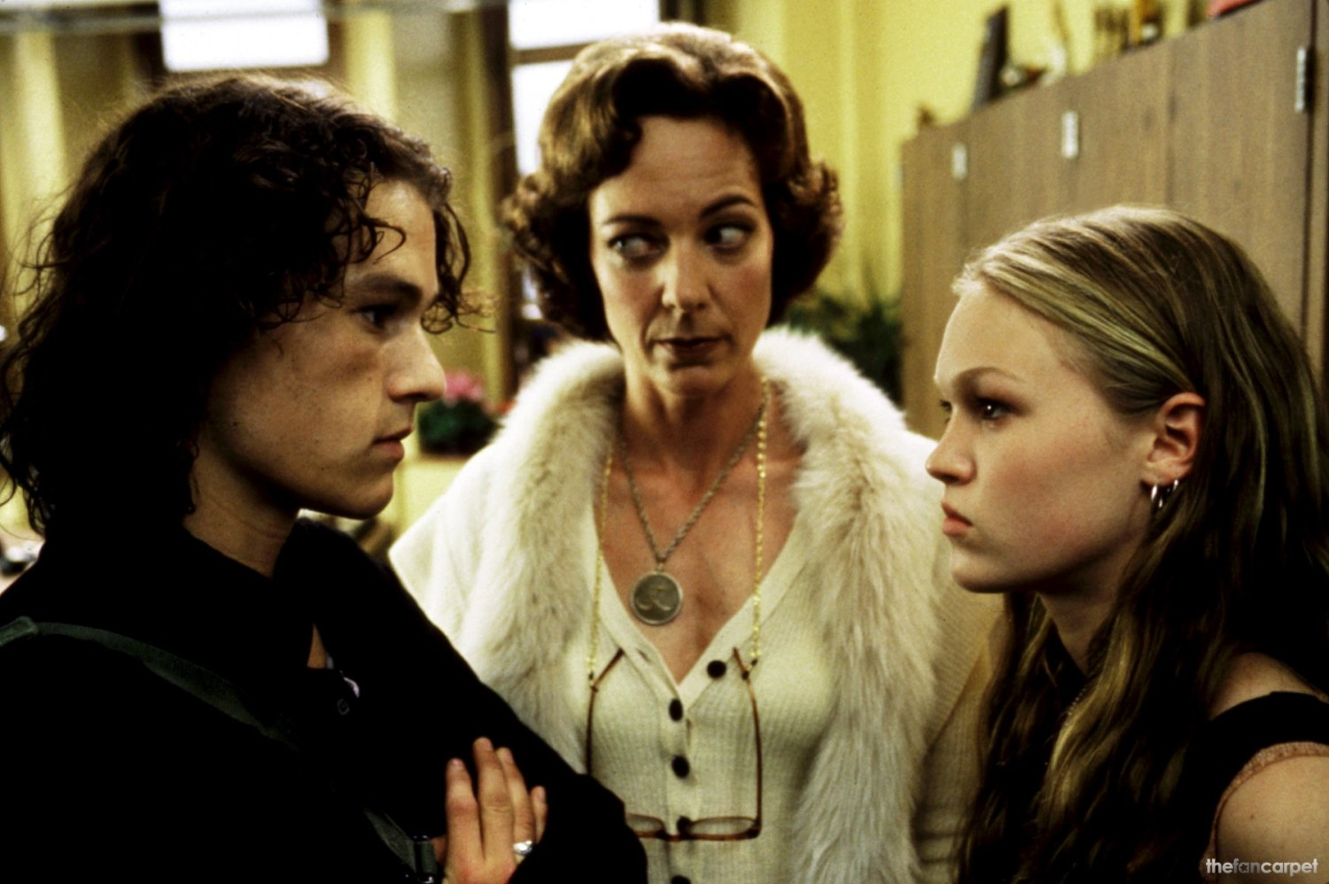 Allison Janney,Heath Ledger,Julia Stiles
