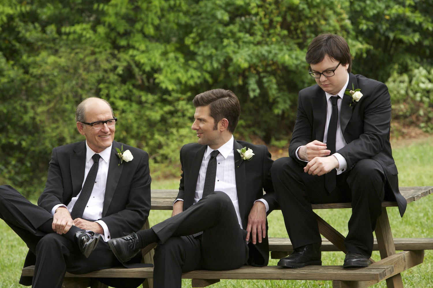 Adam Scott,Clark Duke,Richard Jenkins
