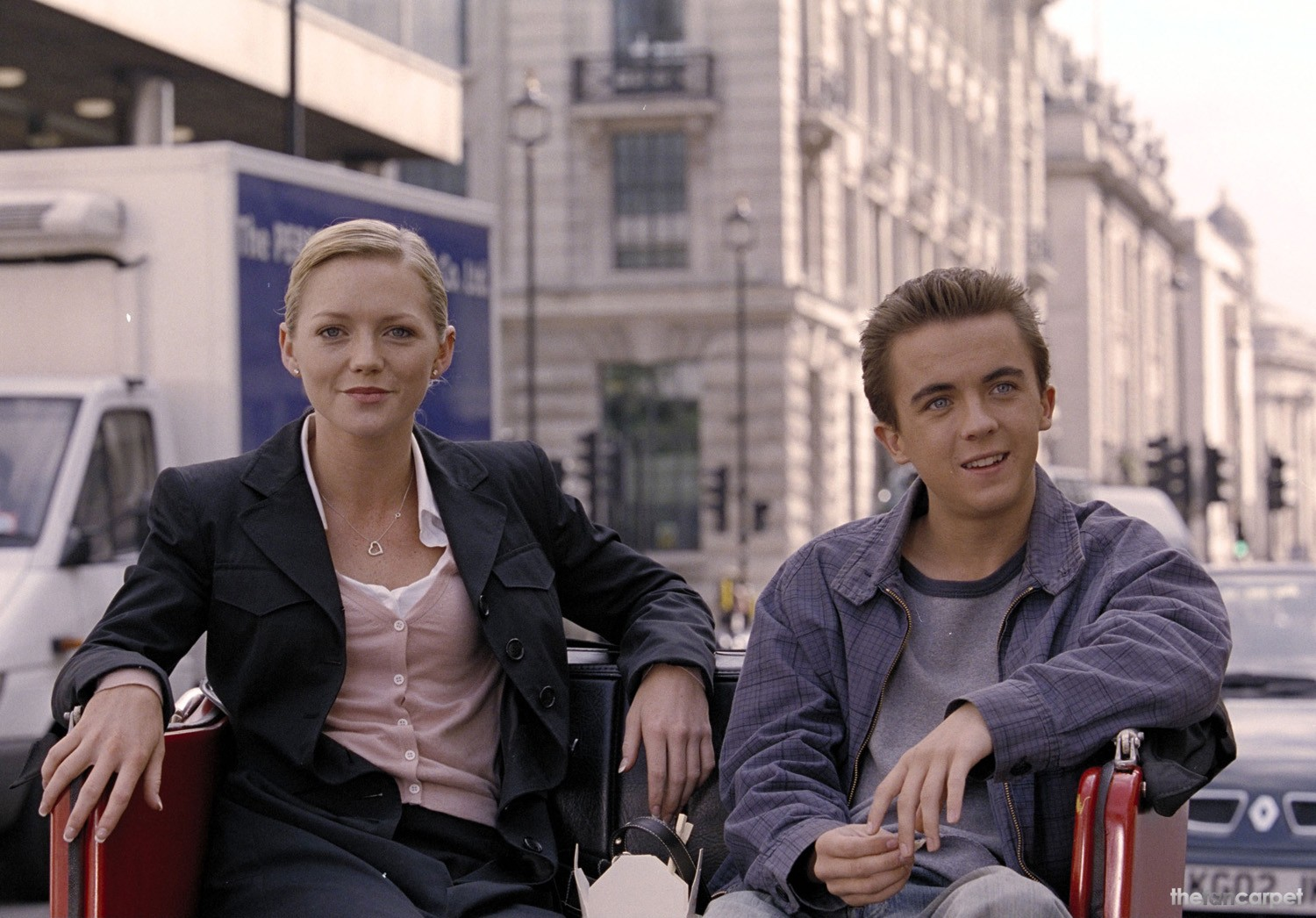 Frankie Muniz,Hannah Spearritt