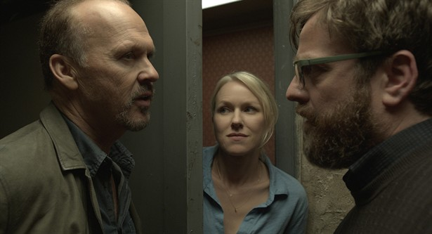 Michael Keaton,Naomi Watts,Zach Galifianakis