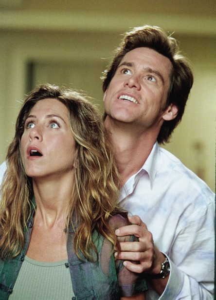 Jennifer Aniston,Jim Carrey