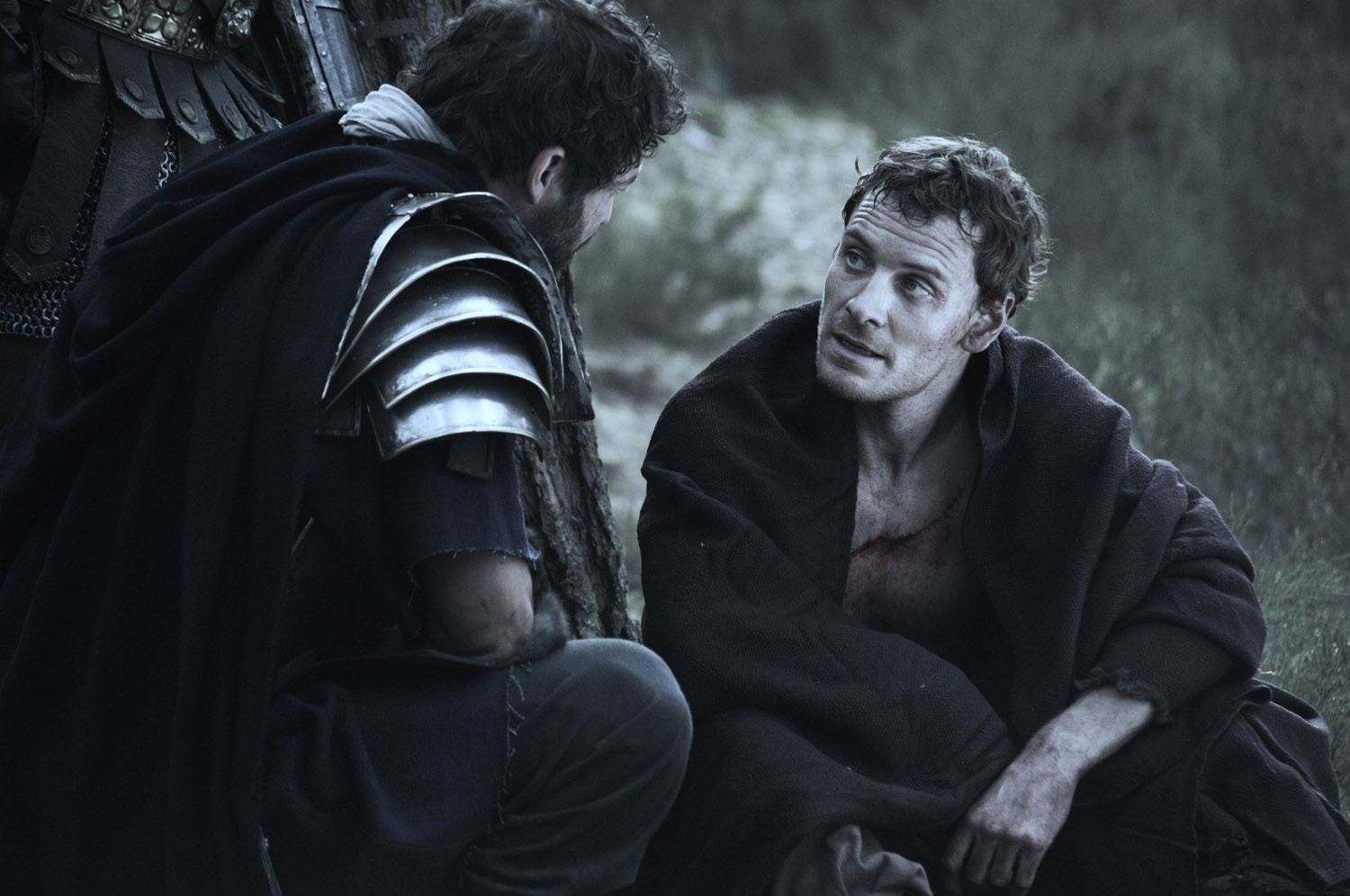 Dominic West,Michael Fassbender
