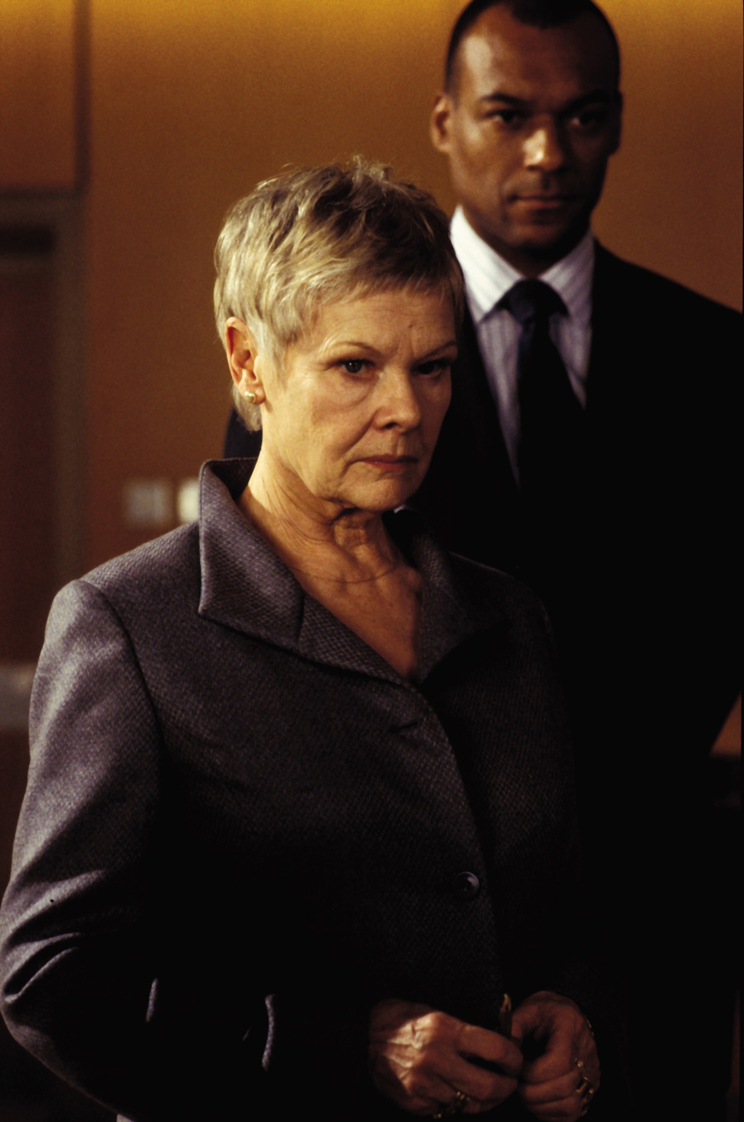 Colin Salmon,Judi Dench