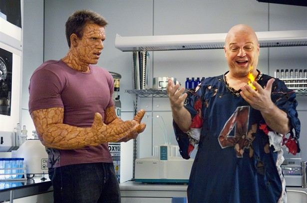 Chris Evans,Michael Chiklis