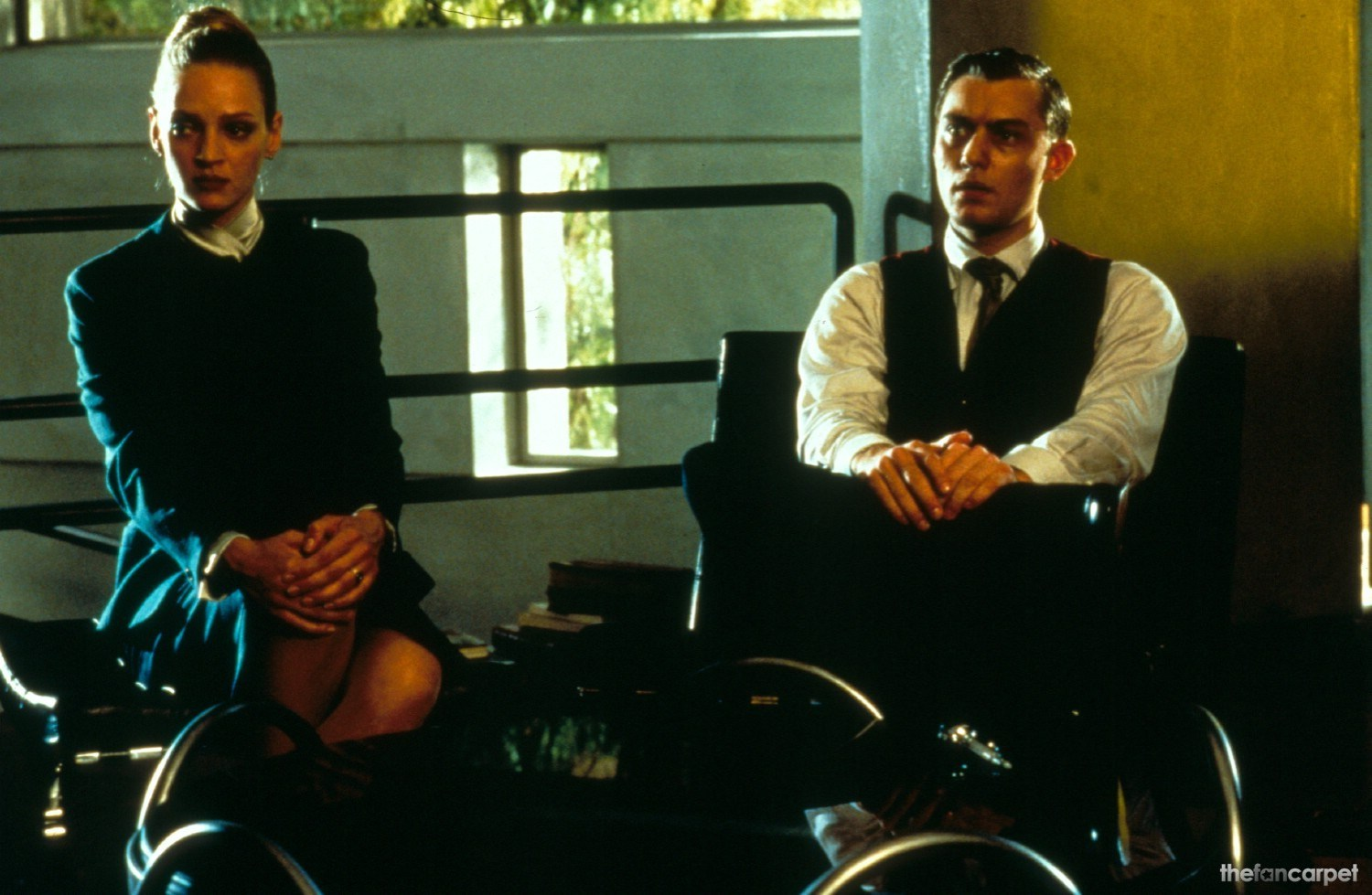 Jude Law,Uma Thurman