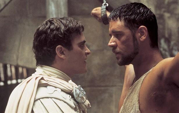 Joaquin Phoenix,Russell Crowe