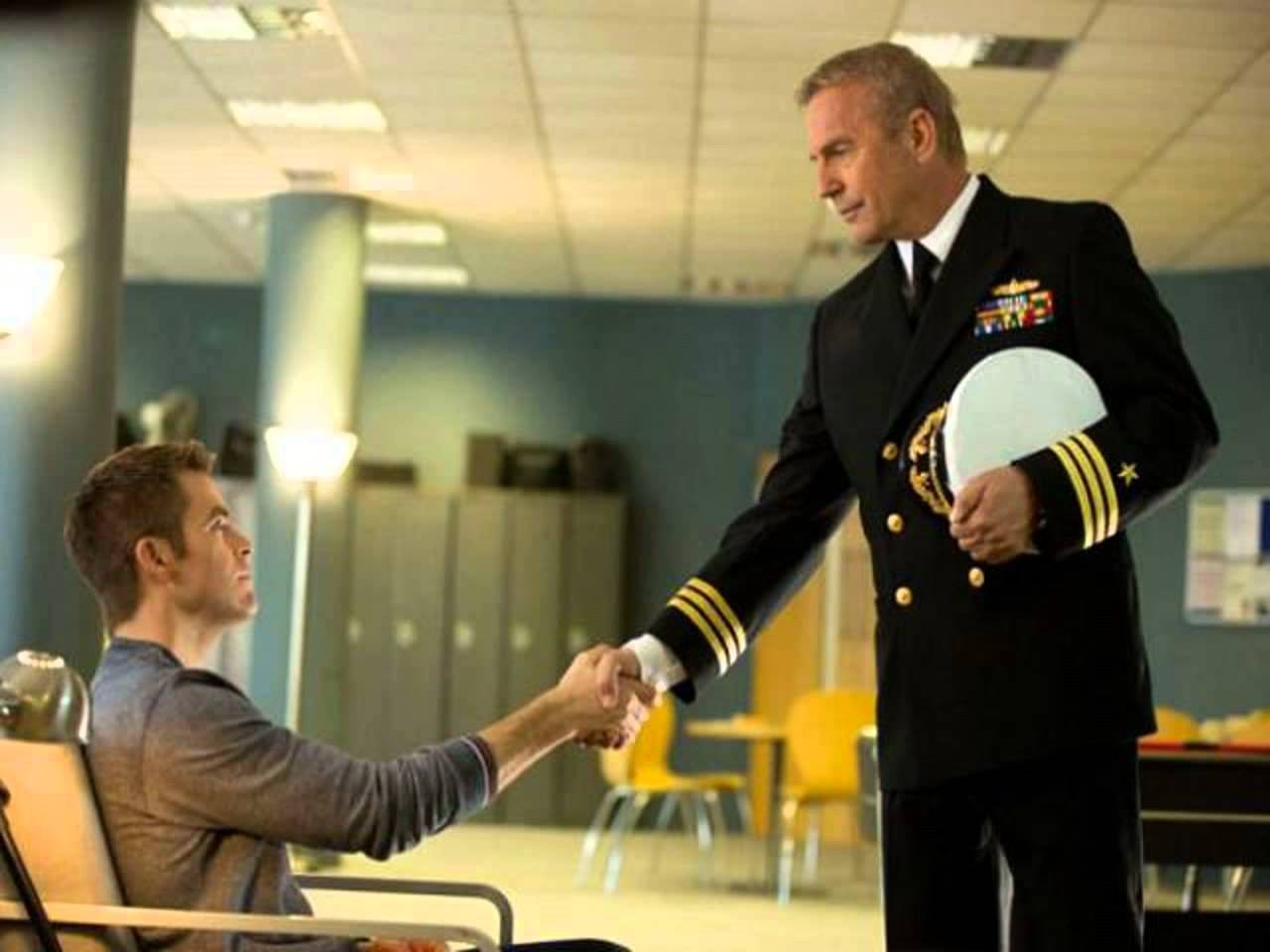 Chris Pine,Kevin Costner
