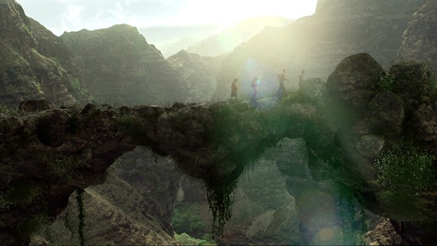 Dwayne 'The Rock' Johnson, Josh Hutcherson,Luis Guzm,Vanessa Hudgens