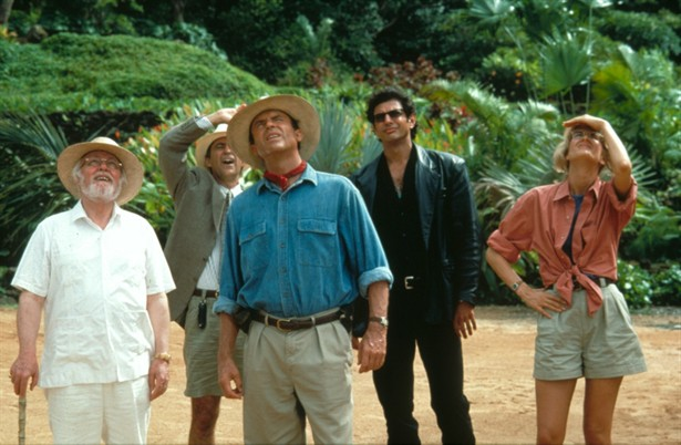 Jeff Goldblum,Laura Dern,Richard Attenborough,Sam Neill