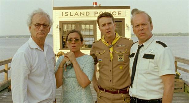 Bill Murray,Bruce Willis,Edward Norton,Frances McDormand
