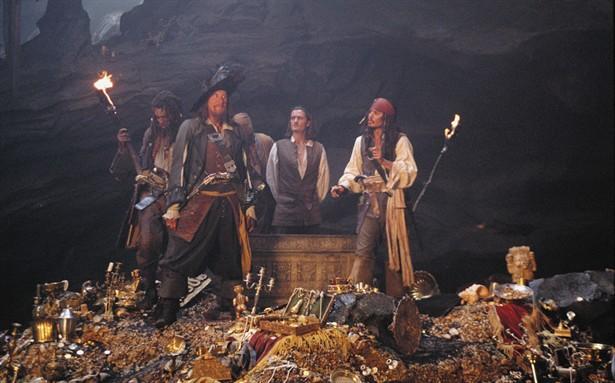 Geoffrey Rush,Johnny Depp,Orlando Bloom