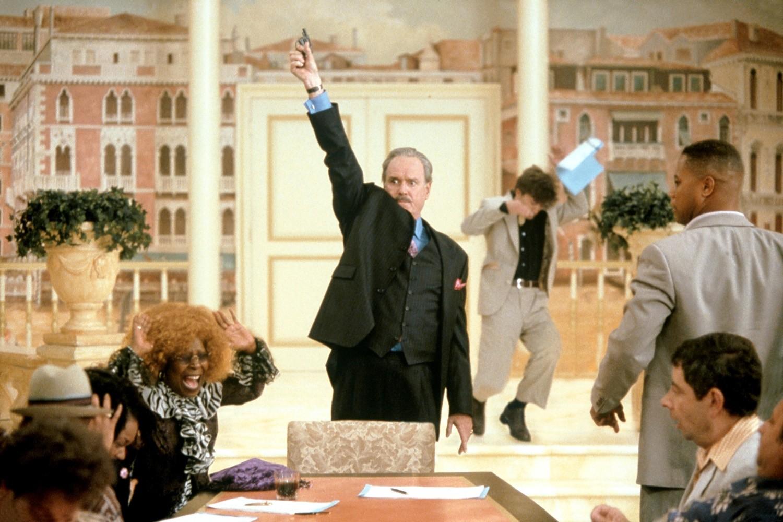 Cuba Gooding Jr.,John Cleese,Rowan Atkinson,Whoopi Goldberg