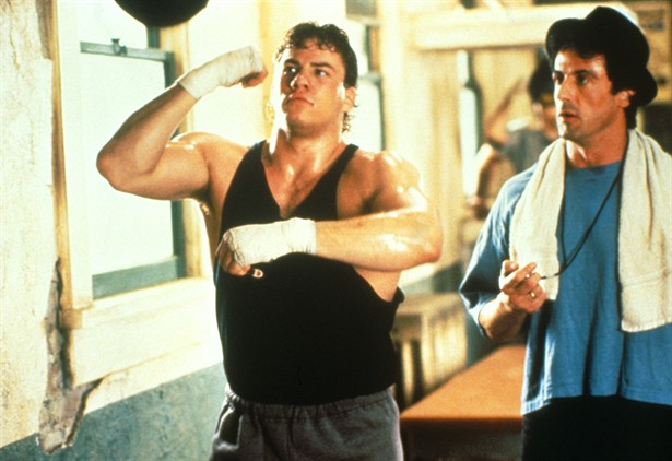 Sylvester Stallone,Tommy Morrison
