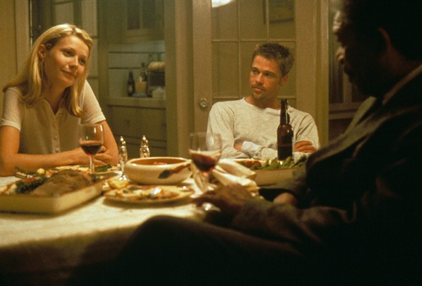 Brad Pitt,Gwyneth Paltrow,Morgan Freeman