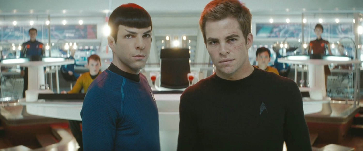 Chris Pine,Zachary Quinto