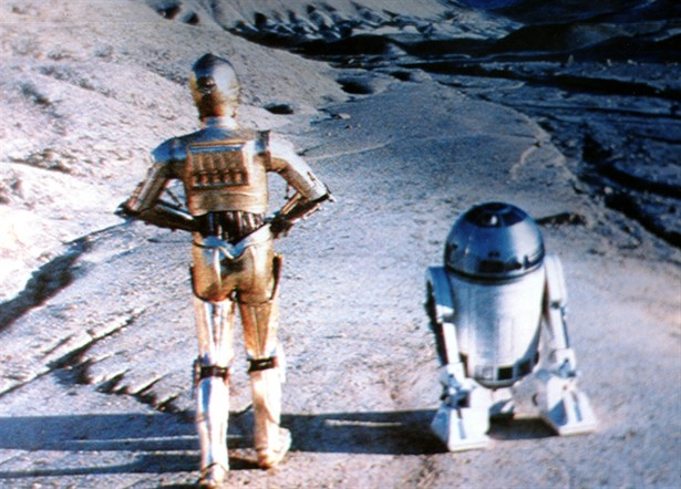 Anthony Daniels,Kenny Baker