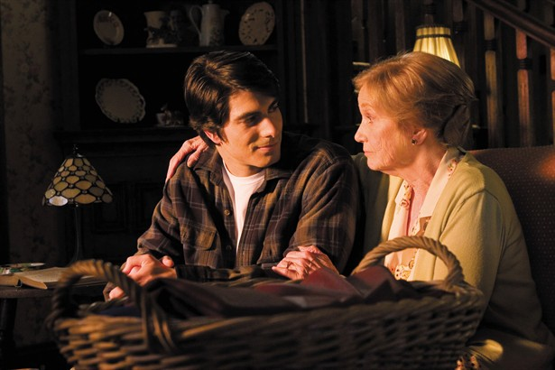 Brandon Routh,Eva Marie Saint