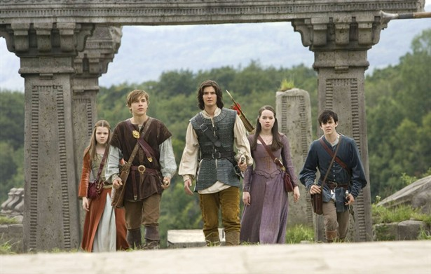 Anna Popplewell,Ben Barnes,Georgie Henley,Skandar Keynes,William Moseley