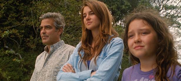 George Clooney,Shailene Woodley
