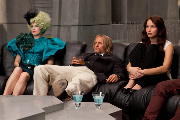 Elizabeth Banks,Jennifer Lawrence,Woody Harrelson