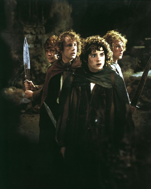 Billy Boyd,Dominic Monaghan,Elijah Wood,Sean Astin