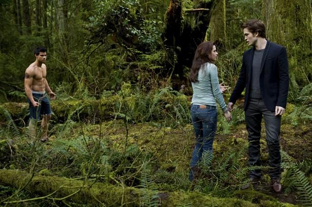 Kristen Stewart,Robert Pattinson,Taylor Lautner