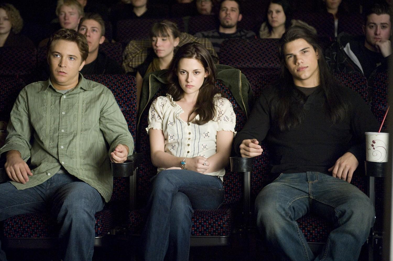 Kristen Stewart,Michael Welch,Taylor Lautner