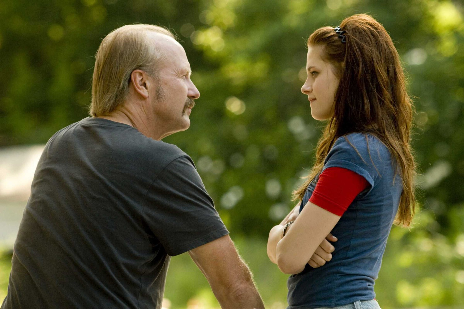 Kristen Stewart,William Hurt