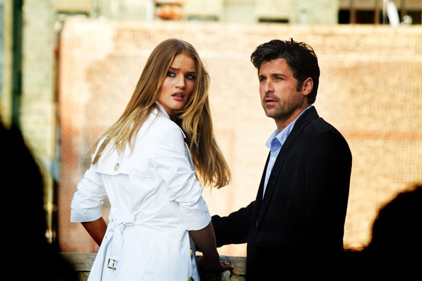 Patrick Dempsey,Rosie Huntington-Whiteley