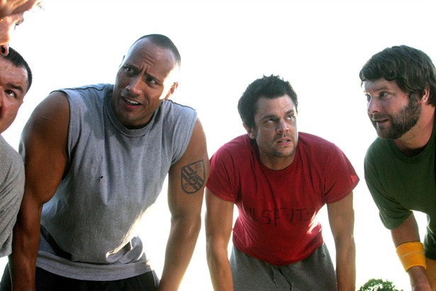 Dwayne Johnson, Johnny Knoxville