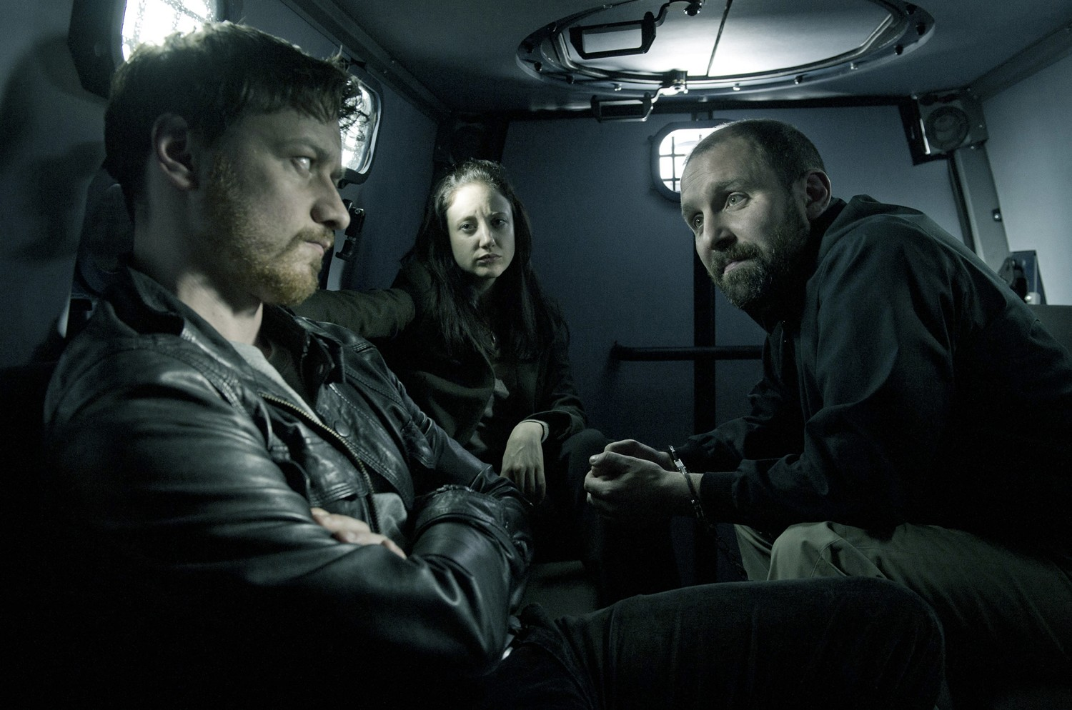 Andrea Riseborough,James McAvoy,Steve Oram