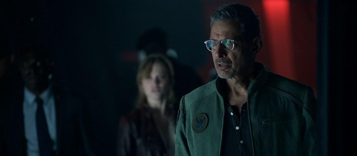 Jeff Goldblum, Maika Monroe