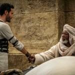 Jack Huston, Morgan Freeman