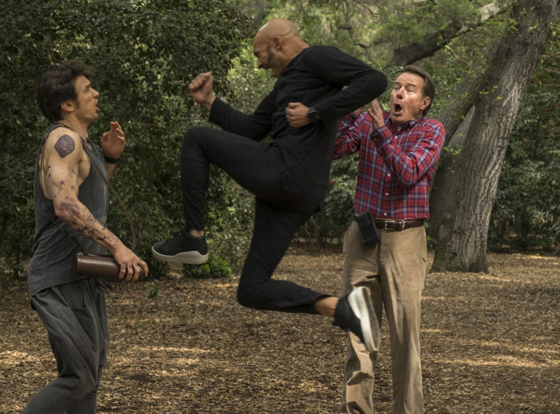 James Franco, Bryan Cranston, Keegan-Michael Key