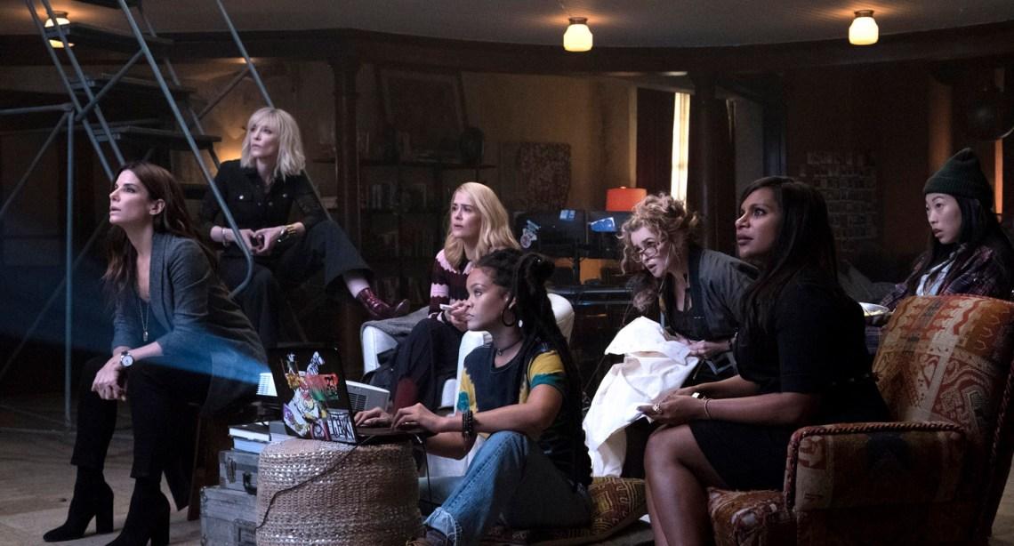 Sandra Bullock, Cate Blanchett, Anne Hathaway, Mindy Kaling, Sarah Paulson, Helena Bonham Carter