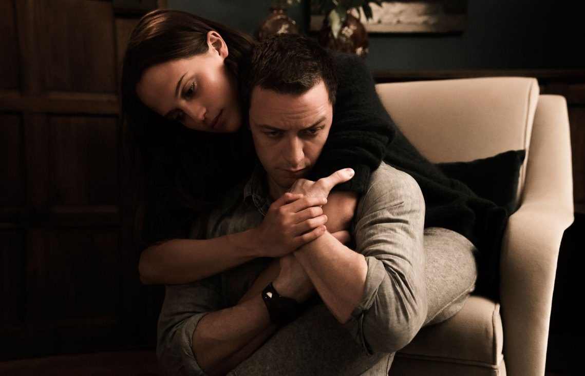 Alicia Vikander, James McAvoy