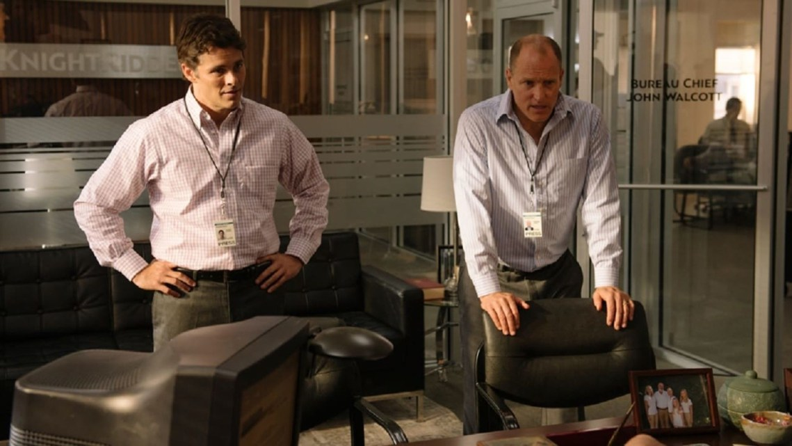 Woody Harrelson, James Marsden