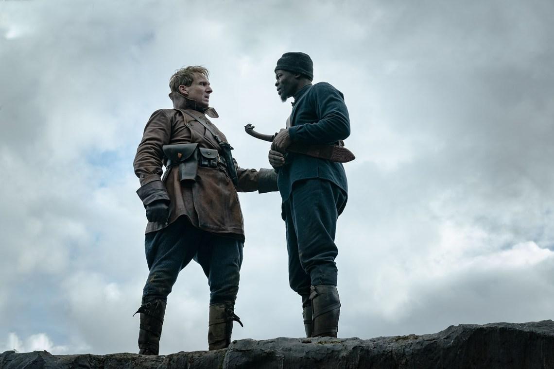 Ralph Fiennes, Djimon Hounsou