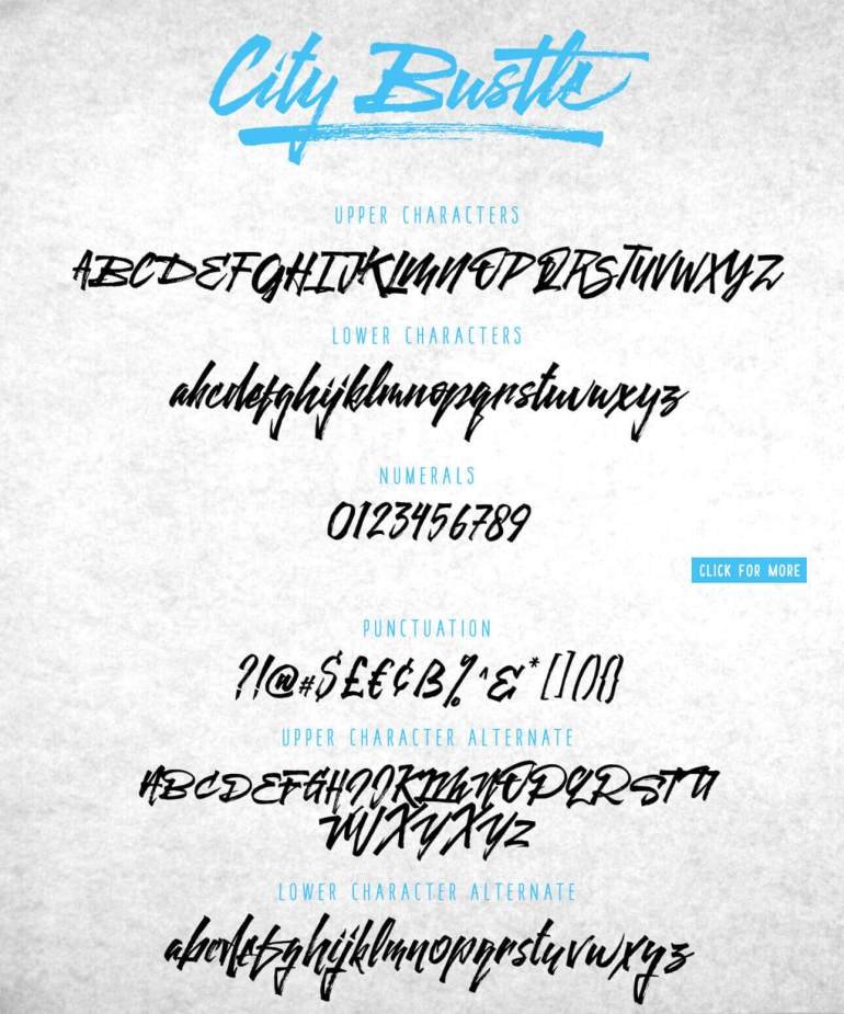 Best Selling Gorgeous Fonts 4-1