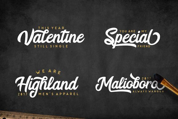Best Selling Gorgeous Fonts 6-sample-logo-