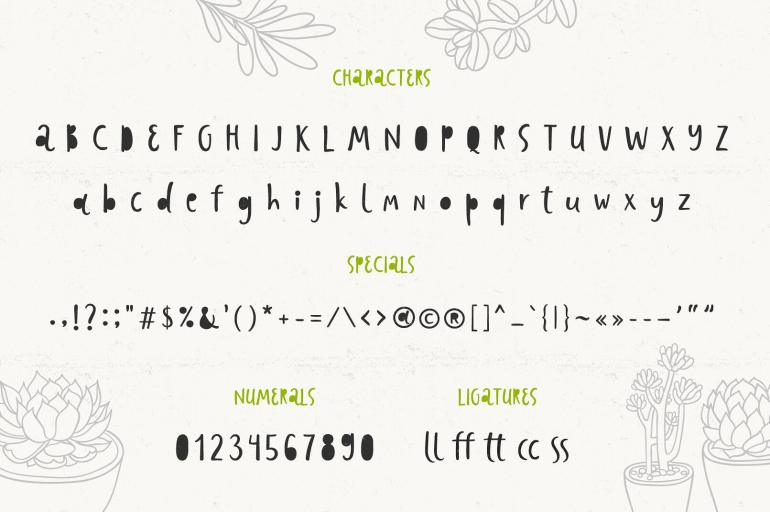 Best Selling Gorgeous Fonts preview3-