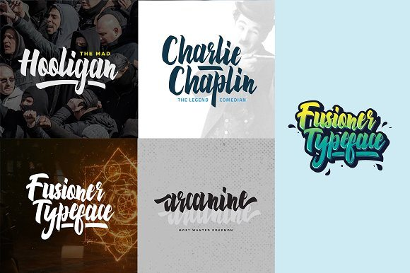 Best Selling Gorgeous Fonts preview6-1-1