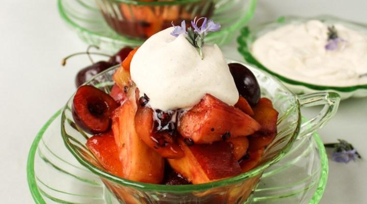 Warm Fruit Salad | The Fare Sage