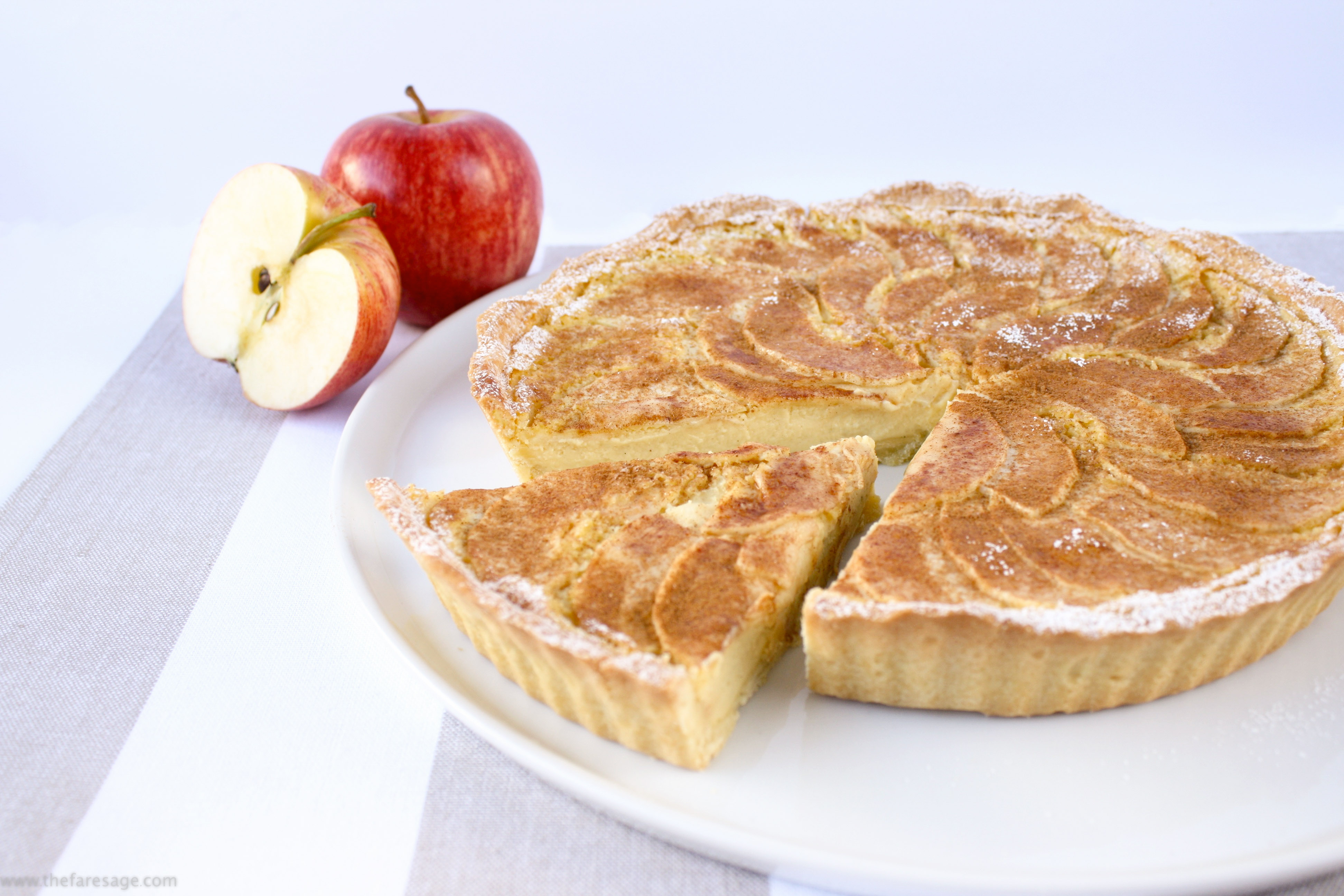 Apple Cake With Shortcrust Pastry