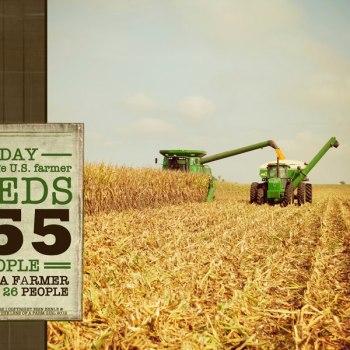 Average US Farmer Feeds…